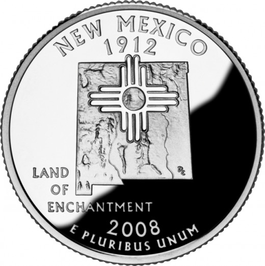 New Mexico's State Quarter
