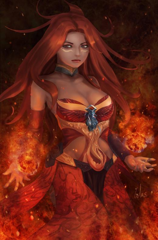 Lina, The Slayer in Dota 2