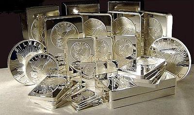 Pure .999 silver bullion