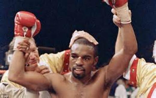 Rocky Lockridge is the former junior lightweight champion of the world.