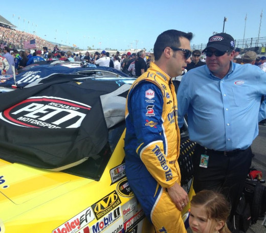 Hornish is back in a full time Sprint Cup ride for 2015