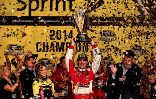 Will Harvick be able to repeat his championship performance of 2014?