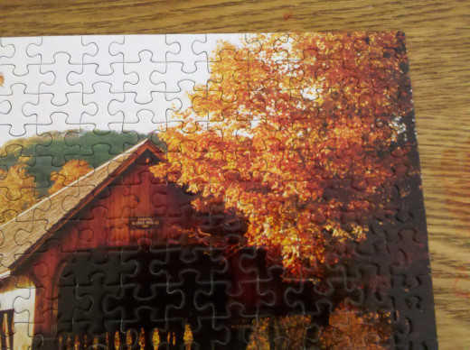Comparable to editing a phrase until it fits perfectly, there is satisfaction discovering where the puzzle pieces belong.