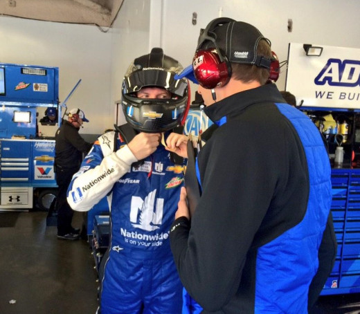Ives has the responsibility of maintaining Earnhardt's success of 2013-14