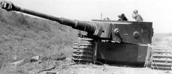 The German Tiger tank was a 54 ton monster with a massive 88-mm cannon no Allied tank could counter its firepower.