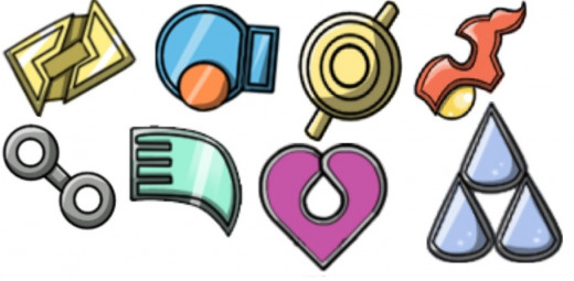 Badges of Hoenn Gyms