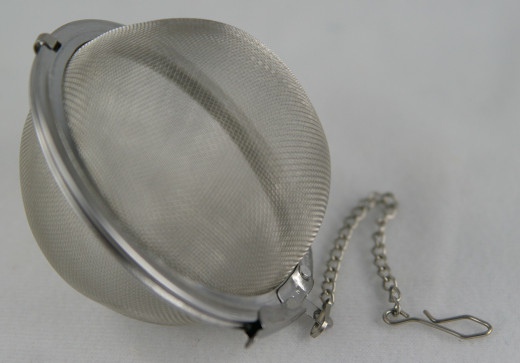 Tea Infuser/ball used to make tea before the advent of tea bags