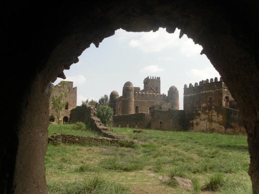 Gonder Castle in Ethiopia