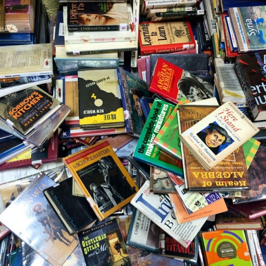 Purging books is good for your collection as well as good for your home and well-being.