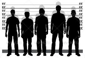 Police line-up's are very frightening I have been told. Men's very freedom hangs on (a) witness' ability to identify the real thug