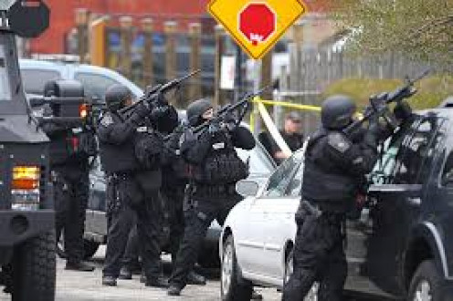 """I would die of """"fear"""" being the criminal in a police shoot-out. The police in 2015 are well-trained in marksmanship and do not intend to let a criminal take their lives with a firearm."""