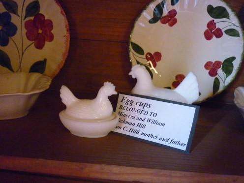 Egg Cups, Harlingen Arts and Heritage Museum, Harlingen, Texas