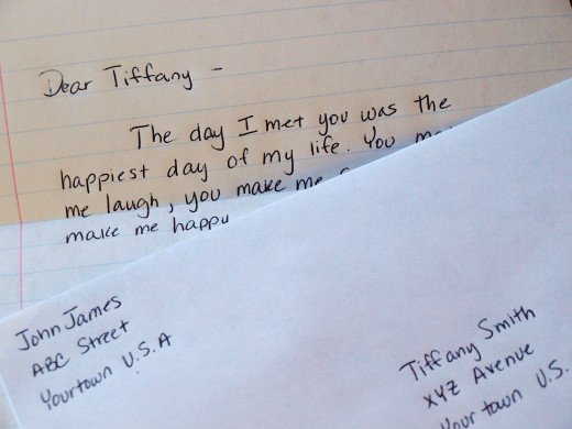 Write her a love letter by hand.