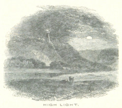 The High Light, Lowestoft, 1851 (Source: 'The Eastern Counties Railway Illustrated Guide', p. 55)