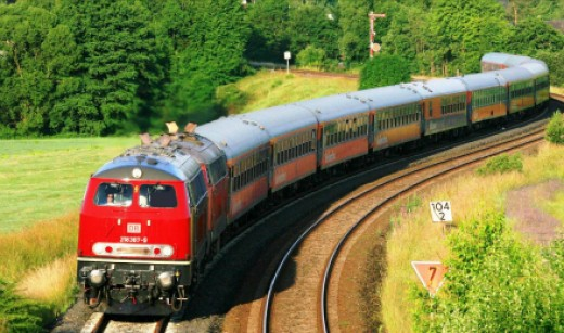 What destinations are on your travel wish list?  A train could help you reach them.
