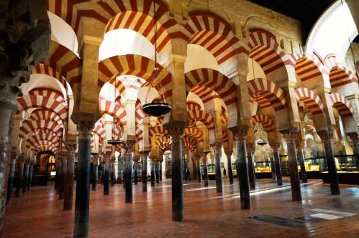 The Mezquita in Cordoba