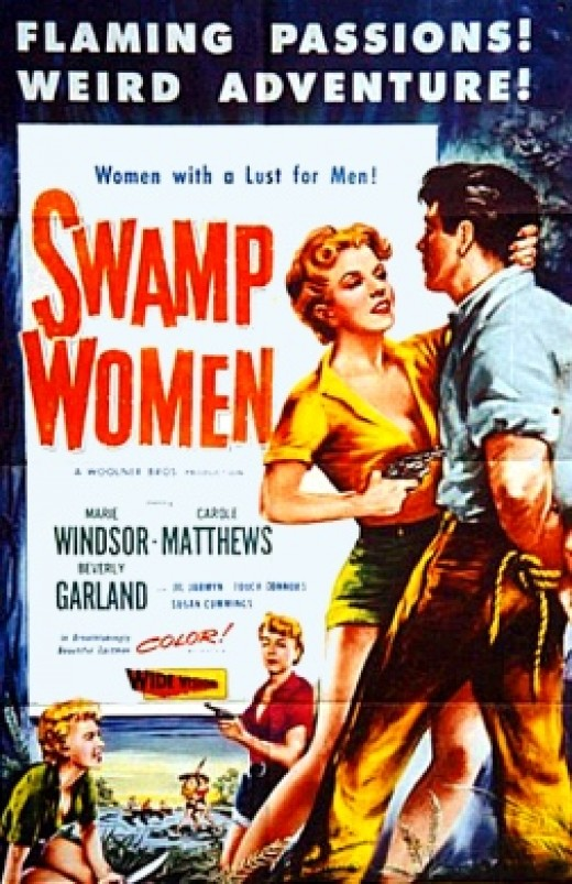 """Swamp Women"" poster"