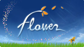 The cover art for the game Flower.