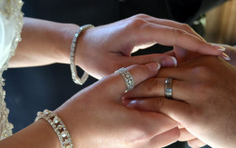 It is the groom's responsibility to purchase the rings. My son and his wife chose them together, but he paid for them.