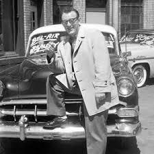 Classic used car salesman
