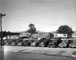 Typical, garden-variety used car lot
