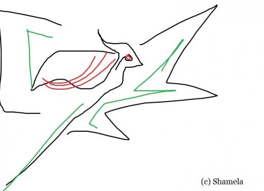 My dove.