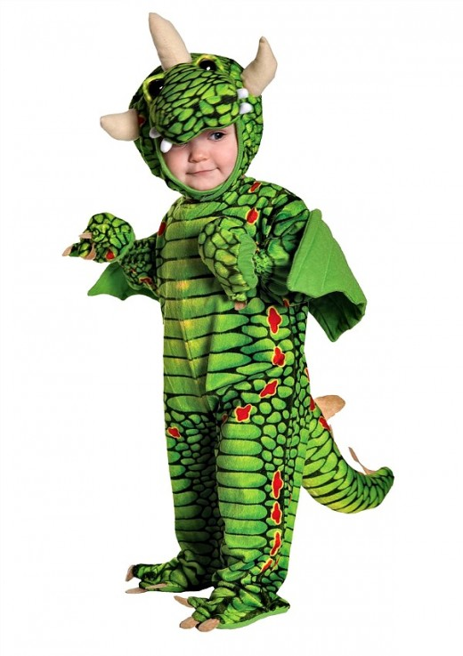 Baby's Dragon Costume by Underwraps