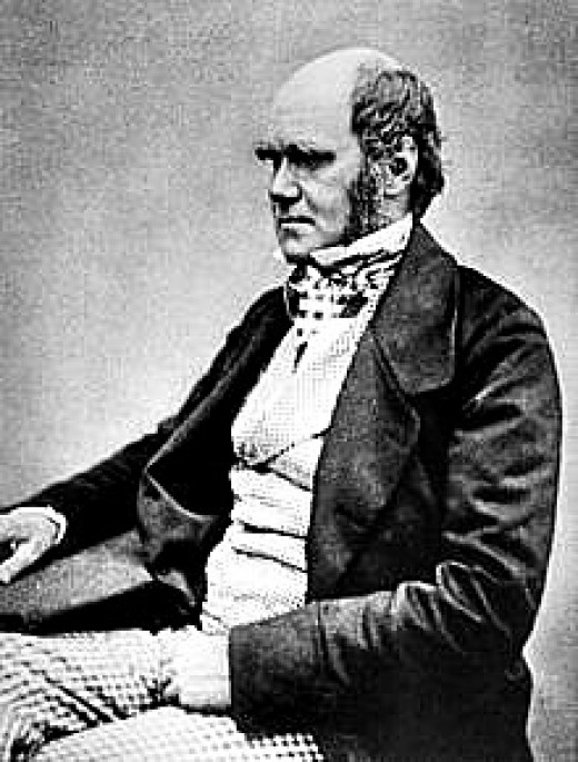 Charles Darwin, aged 45 in 1854