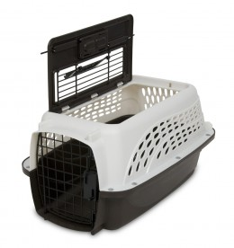 Petmate Pet Kennel: For travel, training and trips to the vet.
