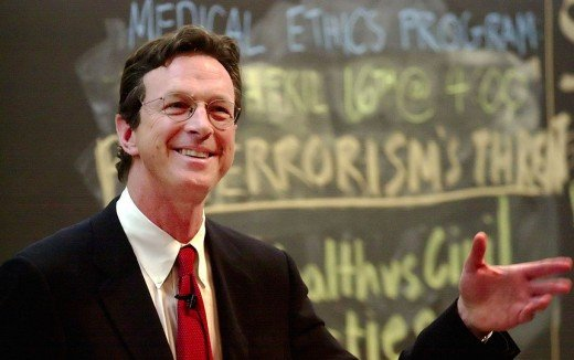 "Analysis of author: Michael Crichton, author of ""Let's Stop Scaring Ourselves"""