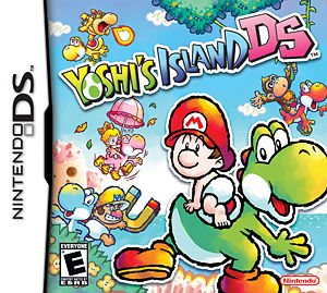 Box art for Yoshi's Island DS.