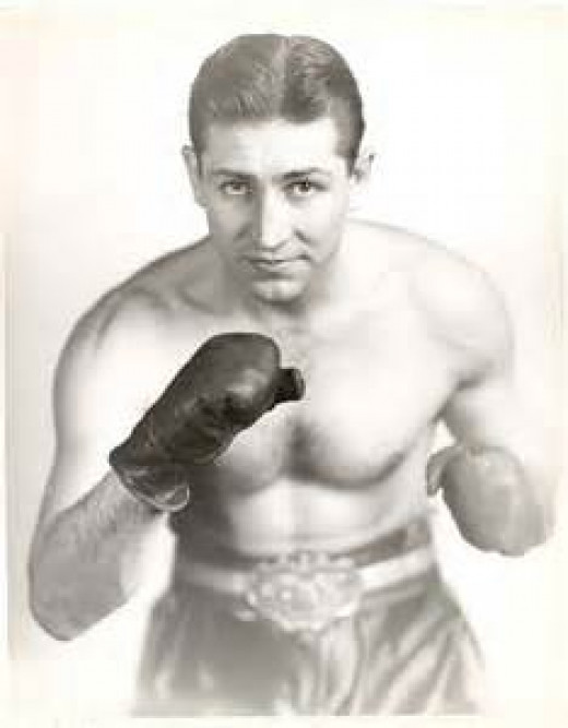 Tommy Moyer competed as a lightweight boxer as an amateur and in the paid ranks.