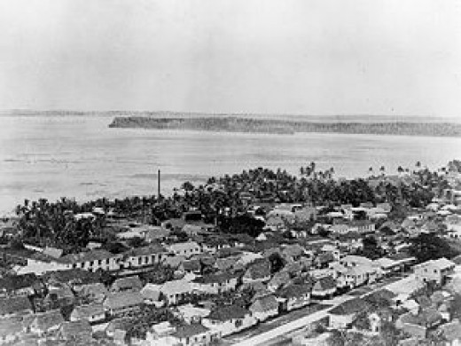 Agana, Guam, before WW2