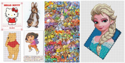 Top 5 Children's Characters with Their Own Cross Stitch Kits!