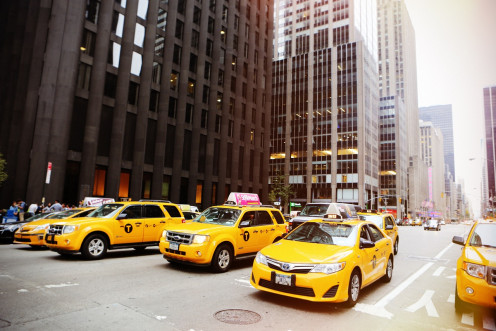 Organizing and managing a large fleet of taxis can be tricky!