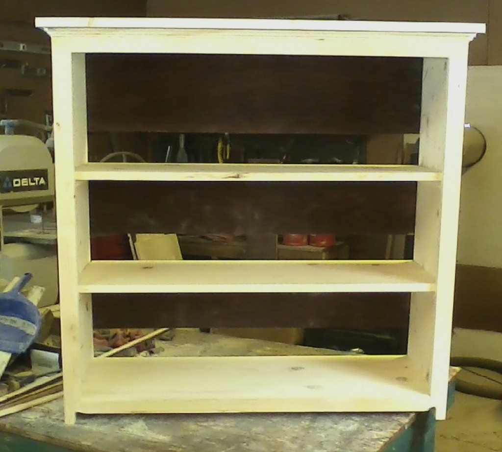 How To Make a Shelf Unit Using Repurposed Wood