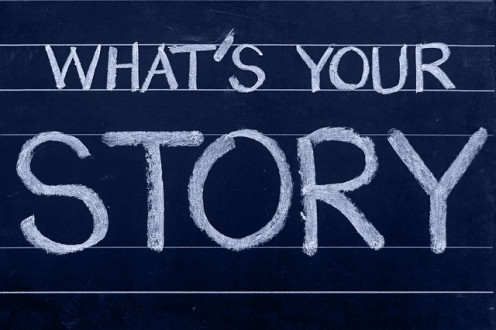 If you can tell a story that you're passionate about, that can be a great foundation for a blog