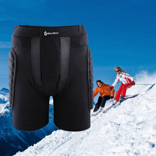 Padded shorts for bumpy rides