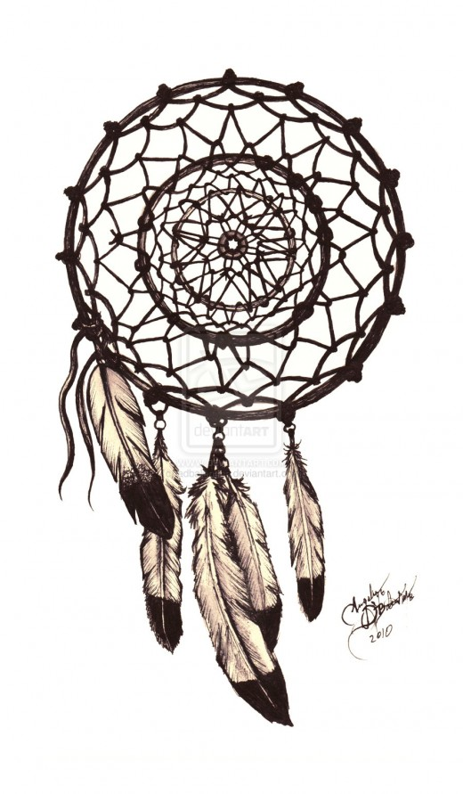 A dream catcher to catch the bad dreams