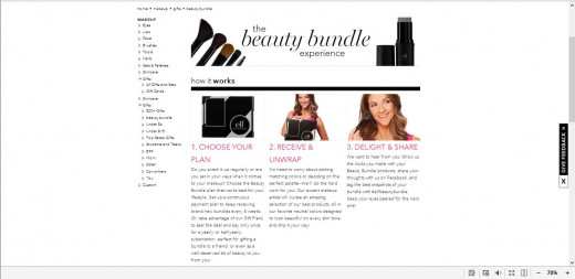 E.L.F also offers a bi-monthly subscription service as well.