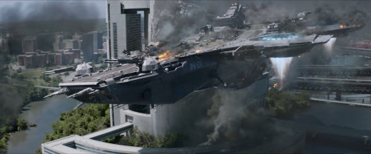 """Hm, Helicarrier's coming in close... and fast!"""