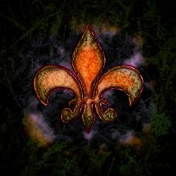 Create Rusty Grunge Style Fleur-De-Lis in Photoshop