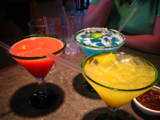 Different margarita variations