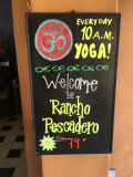 Yoga and Surf at Rancho Pescadero