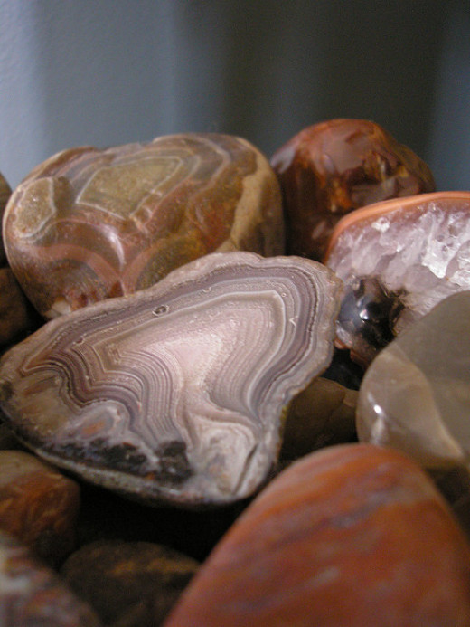 Agate can help to protect your home.