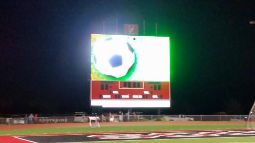 Southside ISD scoreboard