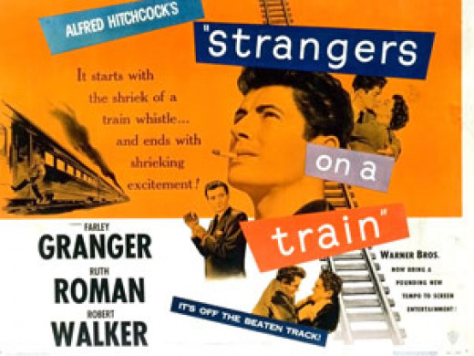 Movie poster for Strangers on a Train