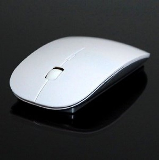An affordable option for those on a limited budget, the Cosmos Pure White 2.4G RF optical wireless USB mouse works with all laptops and desktops which have USB 2.0. 2.4GHz digital wireless transmission enables it  operate at distances up to 10m.