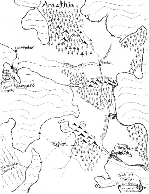 Map of Arauthia