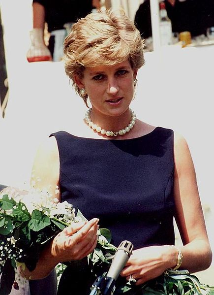 Princess Diana and roses